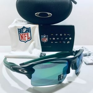 Oakley Sunglasses NFL New York Jets Flak 2.0XL